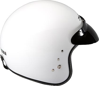 D501 OPEN FACE DROP VISOR