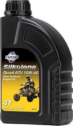 SILKOLENE QUAD ATV 10W-40 1LTR