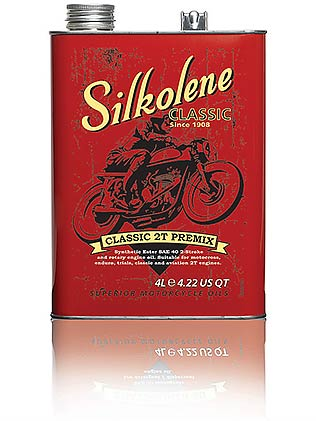 SILKOLENE CLASSIC 2T PRE MIX 4LTR (BOX OF 4)