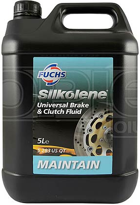 SILKOLENE UNIV BRAKE/CLUTCH FLUID 5LTR