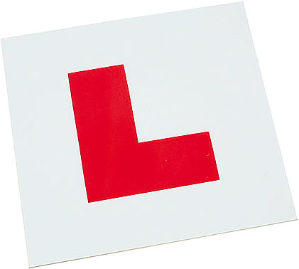 L Plates - Adhesive (Pack of 20)