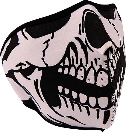 Neoprene Face Mask - Skull