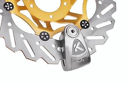 KAL Series 6mm Alarmed Disc Lock