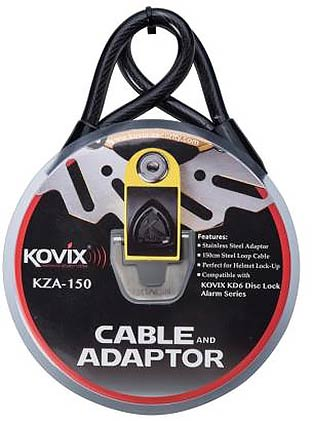 KAL Series 1500mm Security Cable with KAL10/14 Adapter