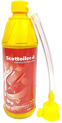 SCOTTOIL HIGH TEMPERATURE RED - 500ML ( SINGLE )